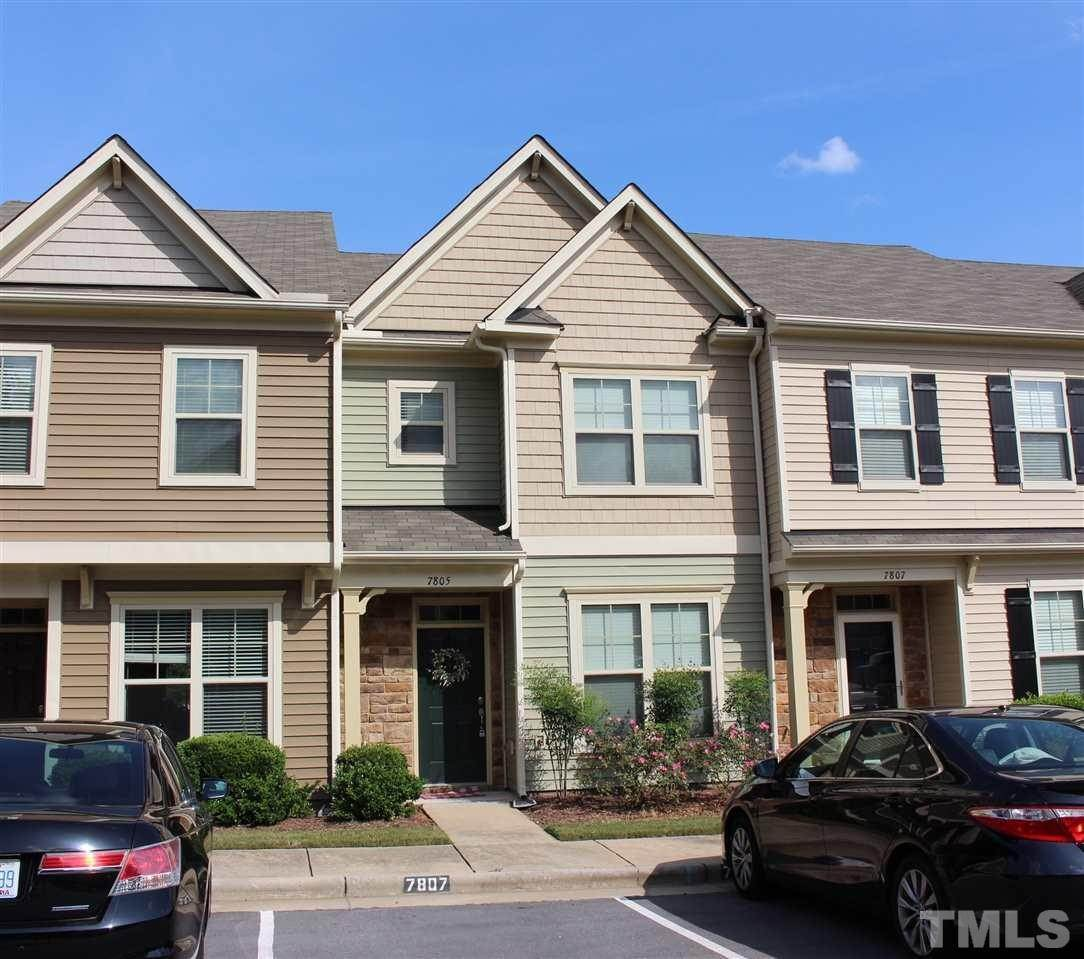 townhouses at 7805 Lillyhurst Drive Raleigh, North Carolina 27612 United States