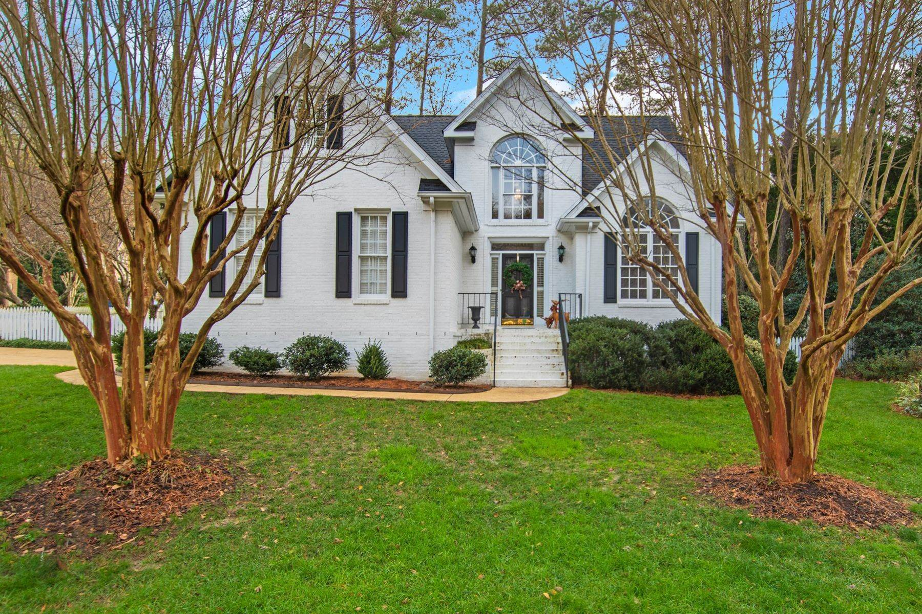 Single Family Homes at Windsor Woods Charming Residence 945 Tanworth Drive Raleigh, North Carolina 27615 United States