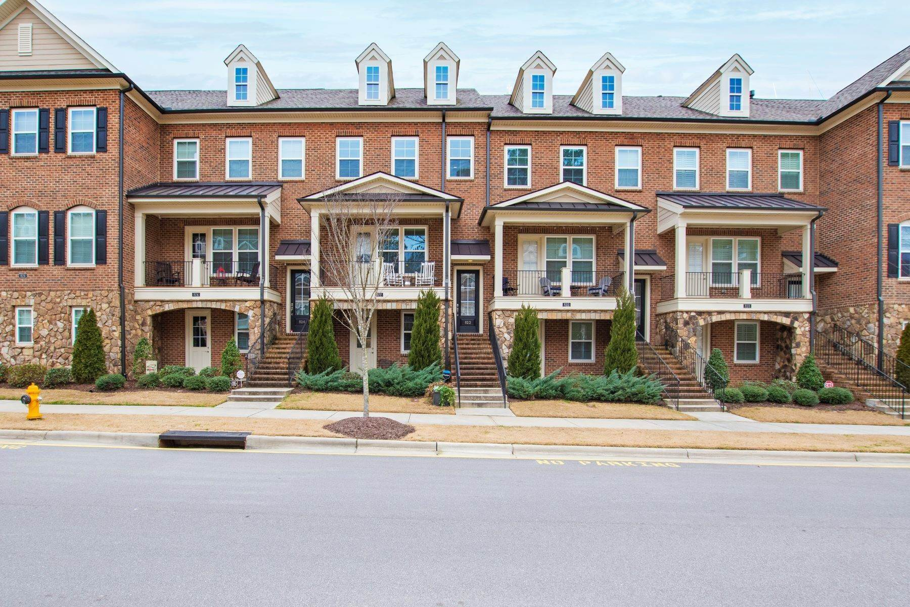 townhouses for Sale at 822 Bankston Woods Way Raleigh, North Carolina 27609 United States