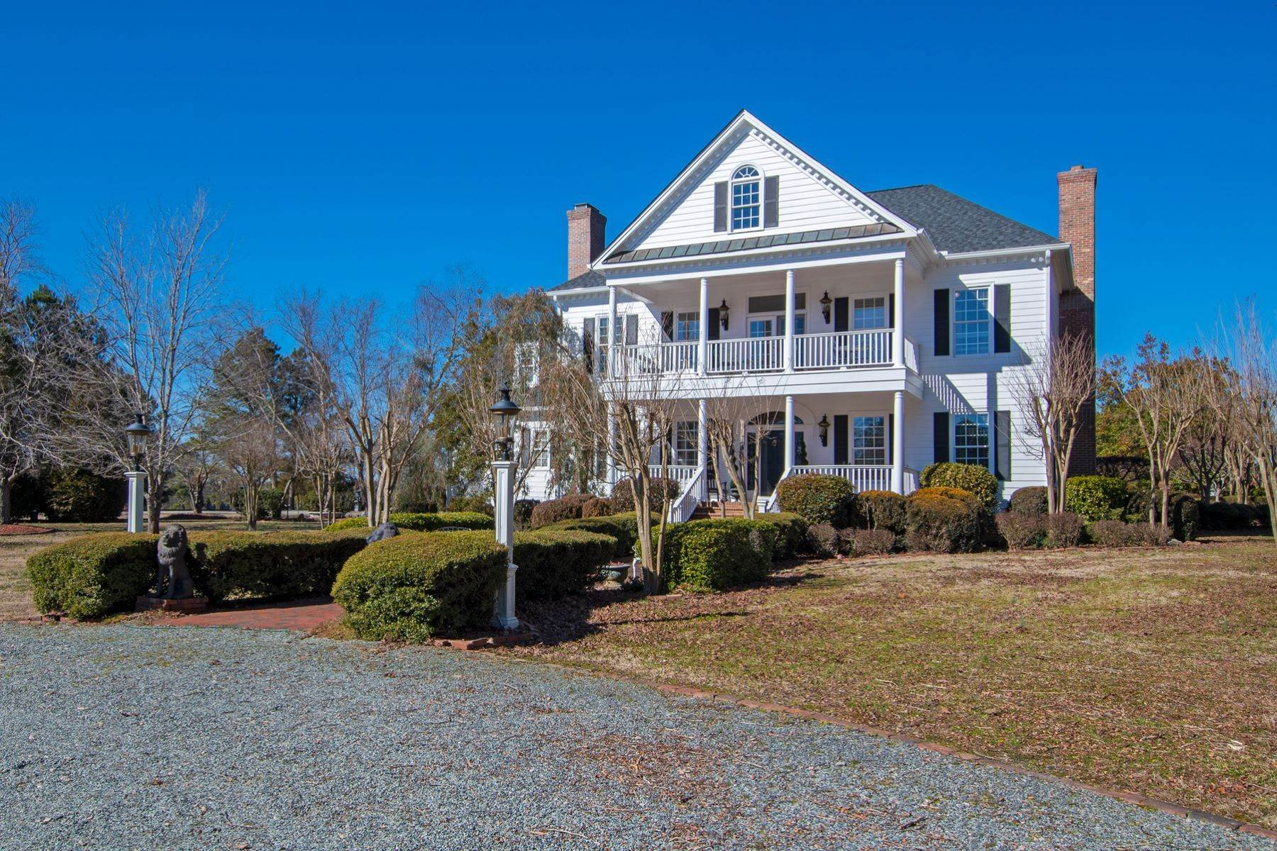 47. Single Family Homes for Sale at New Hope Estate 6325 Old Mill Farm Drive Wendell, North Carolina 27591 United States