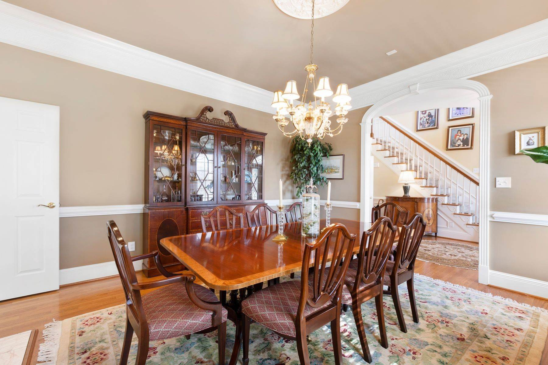 6. Single Family Homes for Sale at New Hope Estate 6325 Old Mill Farm Drive Wendell, North Carolina 27591 United States