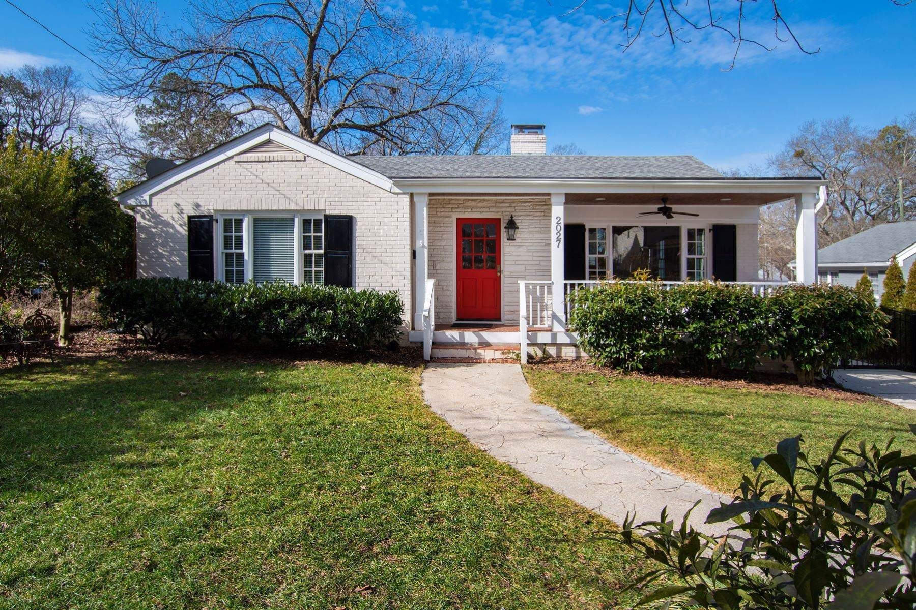 Single Family Homes for Sale at Wonderfully Remodeled Ranch in Villa Park 2027 Reaves Drive Raleigh, North Carolina 27608 United States