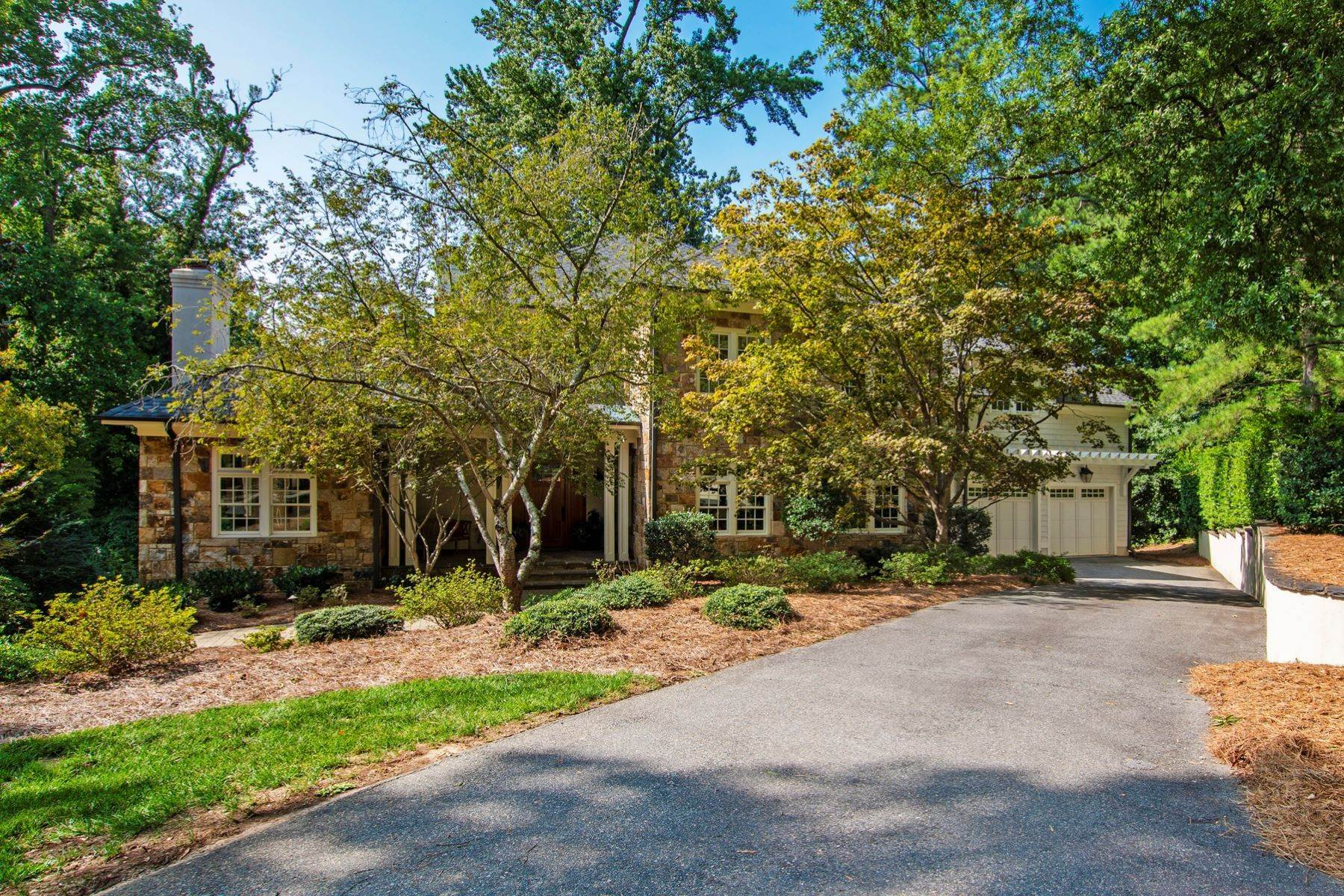 Single Family Homes at Beautiful Stone Home in Budleigh 1914 Lewis Circle Raleigh, North Carolina 27608 United States
