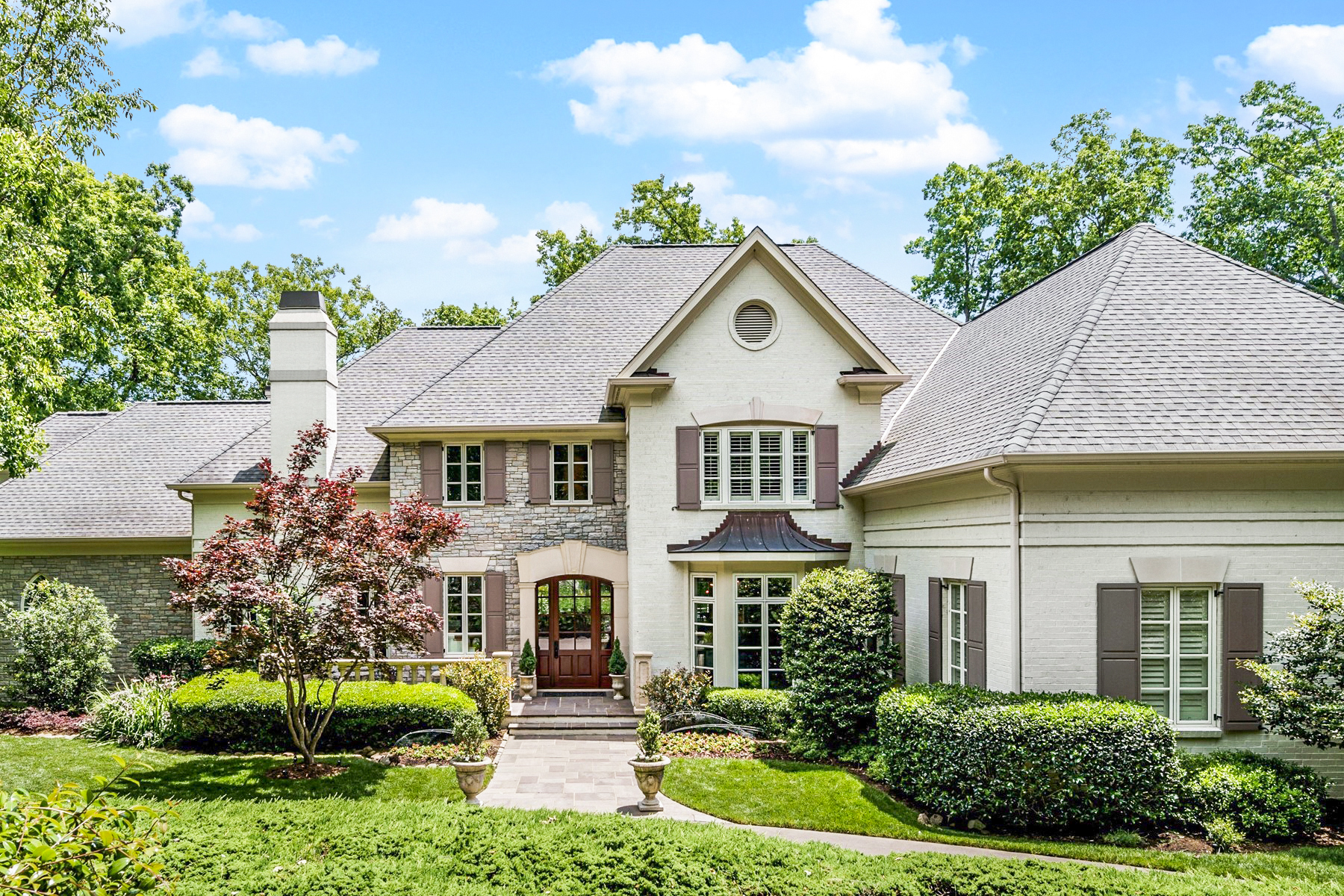 Single Family Homes for Sale at Carolina Masterpiece in Governors Club 22103 Holden Chapel Hill, North Carolina 27517 United States