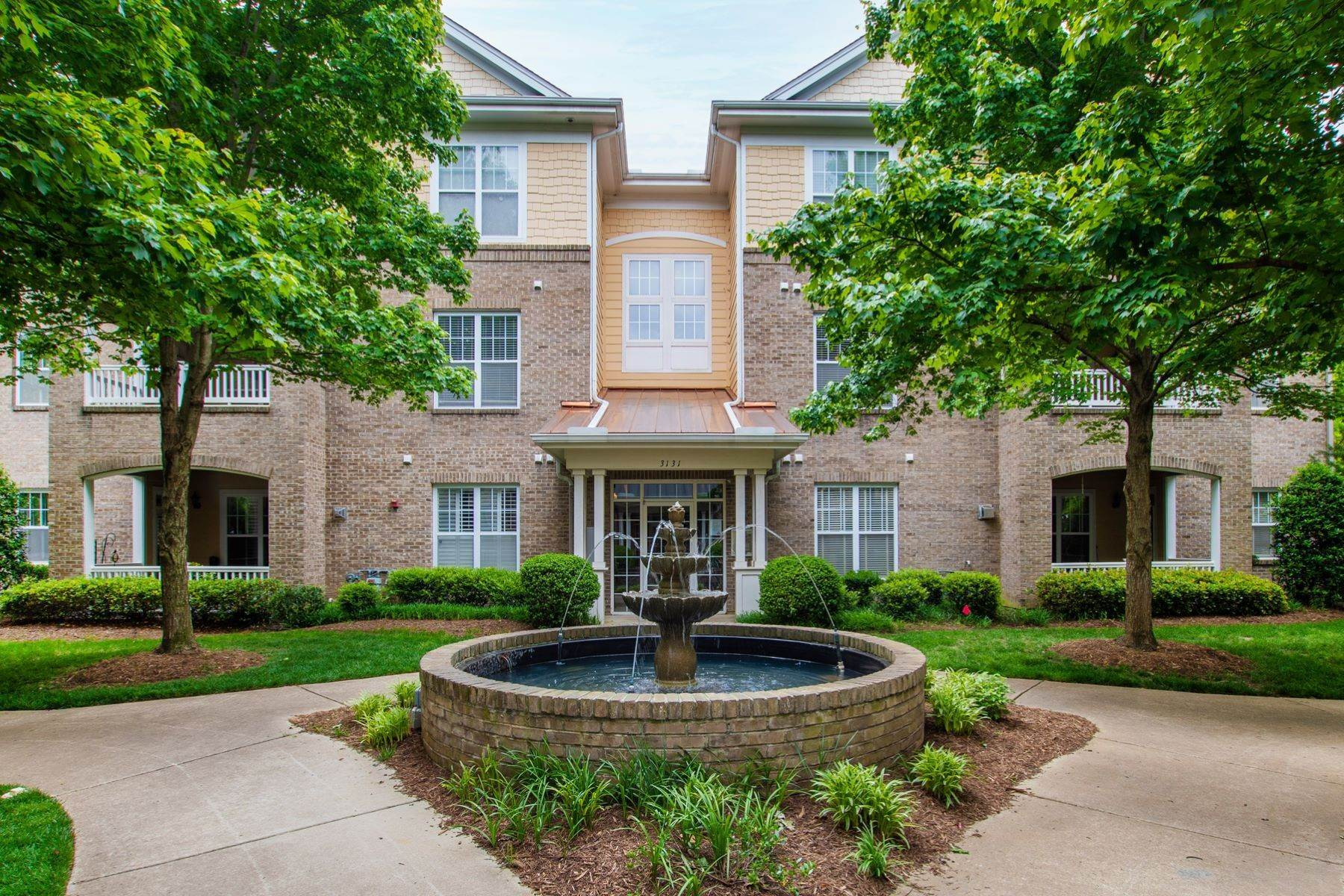 Condominiums for Sale at Move-In Ready End Unit Condo 3131 Hemlock Forest Circle, Unit 204 Raleigh, North Carolina 27612 United States
