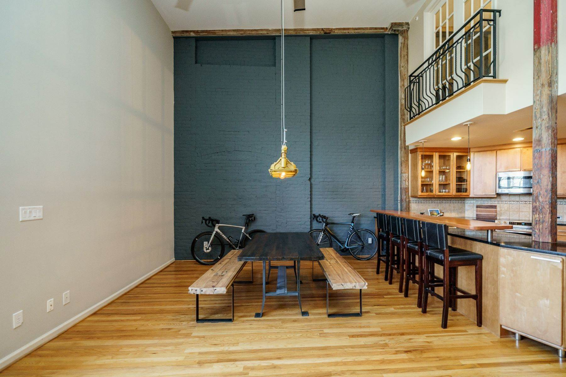 11. Single Family Homes for Sale at Large Industrial Loft in The Cotton Mill 614 Capital Boulevard Unit 225 Raleigh, North Carolina 27603 United States