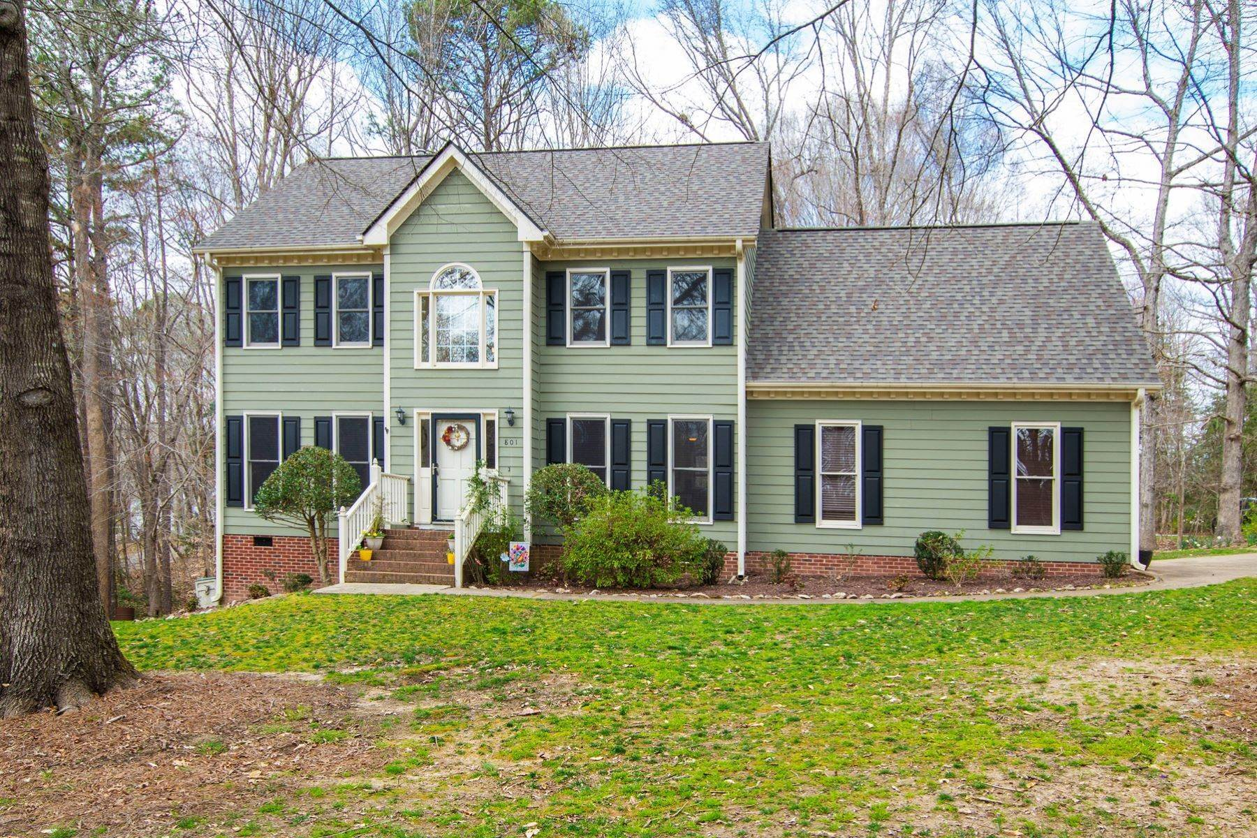 Single Family Homes for Sale at 801 Tamaras Circle Wake Forest, North Carolina 27587 United States