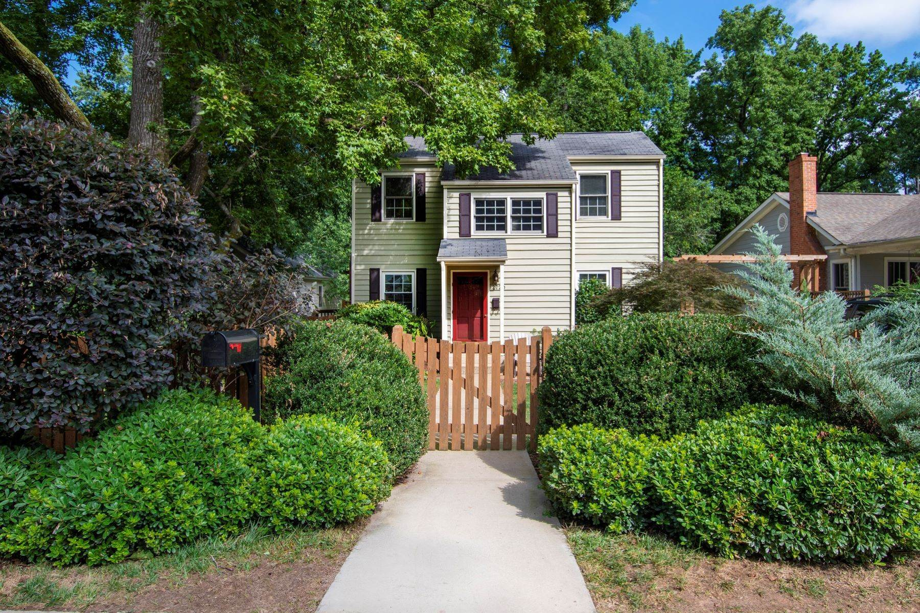 Single Family Homes for Sale at Wayland Heights Home 2720 Wayland Drive Raleigh, North Carolina 27608 United States